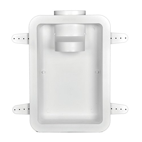 (Dundas Jafine DRB4XZW Recessed Dryer Vent Box, 4