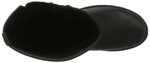 Bullboxer 427502e6l - Botas estilo motero Mujer Schwarz (Black)