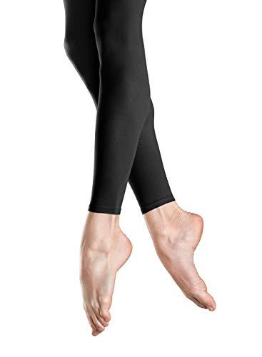 Bloch Women's Ladies Endura Footless Tight, Black, C (Bloch Nylon Tights)