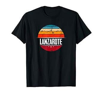 Amazon.com: Camiseta vintage de Lanzarote – Camiseta de ...