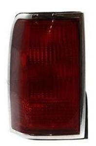 1990 - 1997 Lincoln Town Car Driver Taillight Taillamp (No lincoln emblem) NEW F5VY13405A - Car Town Drivers Lincoln 97