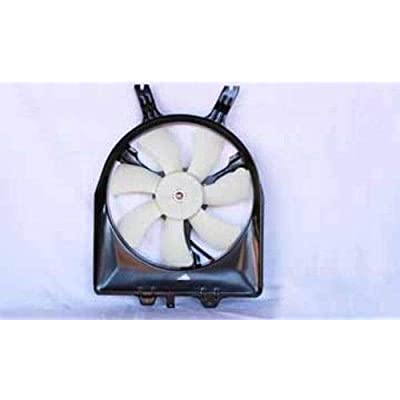 TYC 610850 Honda Odyssey Replacement Condenser Cooling Fan Assembly: Automotive