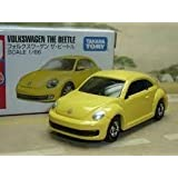 Takara Tomy 33 Volkswagen the Beetle Scale 1:66, Yellow Colour Toy Model