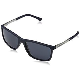 Emporio Armani Unisex Sonnenbrille, Blau (Blue Rubber 547487), Large (Herstellergröße: 58) 10