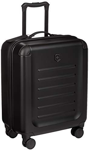 Victorinox Spectra 2.0 Extra Capacity Carry-On Hardside Spinner Suitcase, 21-Inch, Black