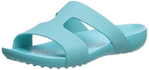 Crocs Women's Serena Slide Sandal Pool 5 M US