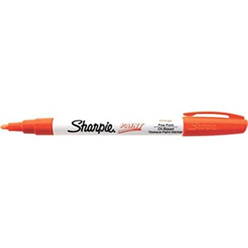 Sharpie Paint Marking Pens, Fine, Orange (40 Pack)