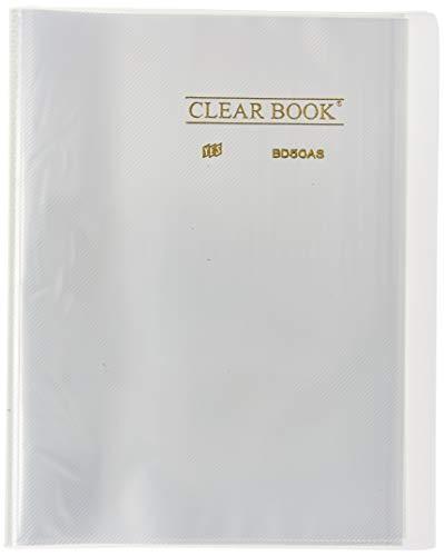 Pasta Catálogo 50 sacos - A4 - Polipropileno - Transparente - Clear Book CRISTAL, YES, BD50ASCR, Cristal, Sim