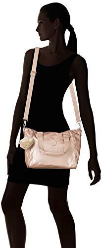 Blush Superior Mujer Asa metallic Para De Amiel Kipling Bolsa Dorado wpzqUII