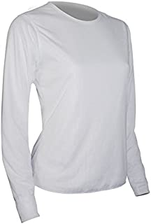 product image for Polar Max Women's Basic Long Sleeve Crew Base Layer Top