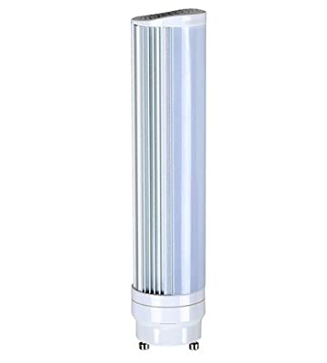 (Pack of 5) Satco S8746, 8W/H/LED/CFL/830/GU24, LED Light Bulb