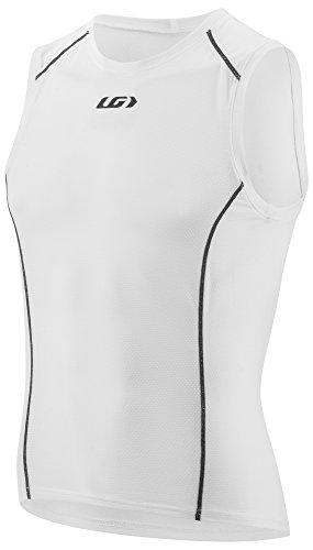 Louis Garneau Men's Supra Sleeveless Bike Top, White, Large ()
