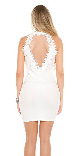KouCla - Vestido - para mujer Weiß