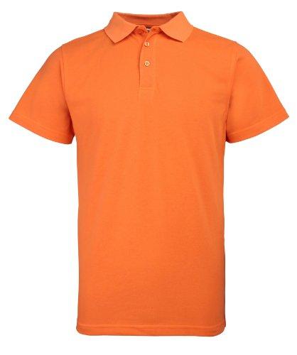 RTY Verbesserte Viz Verbesserte Sichtbarkeit polo Verbesserte orange M
