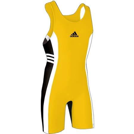 adidas Antwort 2 Wrestling Singlet Athletisches Gold