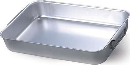 Unbekannt Plat /à Four pour Le Grillage Cocottes Agnelli Lourd cm.60 cod.Alma 15060 Aluminium
