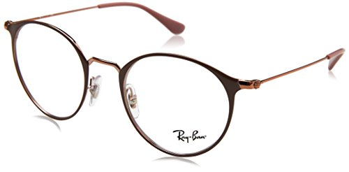 Gafas Ban Top Unisex Monturas Copper Adulto On Ray Light 0RX6378 de Brown Marrón vIwqycOdfO