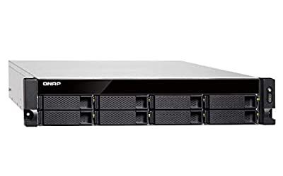 Qnap TS-877XU-1200-4G-US QNAP 2U 8-Bay Rackmount NAS/ISCSI IP-SAN by SYNNEX Corporation, formerly SYNNEX Information Technologies, Inc.