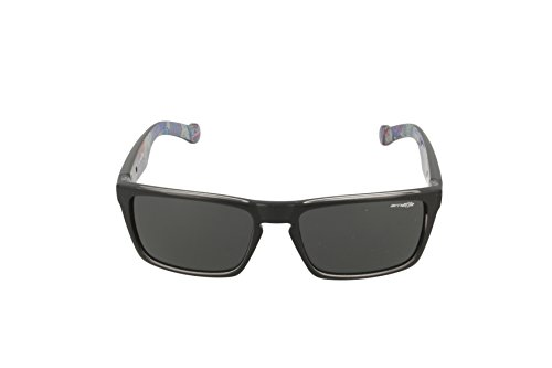 Arnette lentes 59 polar color de Specialist Gafa gris mm rectangular color sol negro con r8prHqw