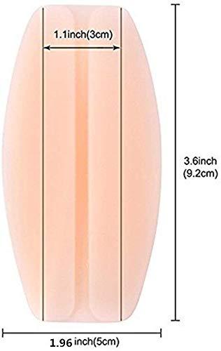 Silicone shoulder pad non-slip shoulder strap pad silicone underwear decompression shoulder pad underwear shoulder strap decompression pad 4 Pairs