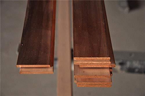 Isali 1PCS/lot YT1366B Copper Row 630100mm Copper Stick T2 Copper Bar Copper Billet TMY Copper Block DIY