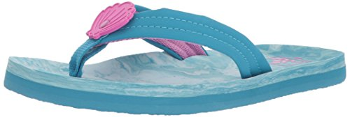 Reef Girls' Little AHI Swirl Sandal Seashell 7-8 Medium, used for sale  Delivered anywhere in USA