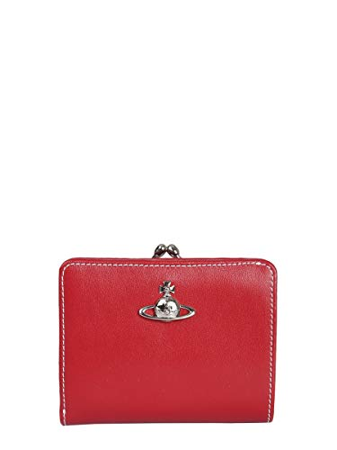 Vivienne Westwood Women's 5101002040525H401 Red Leather Wallet