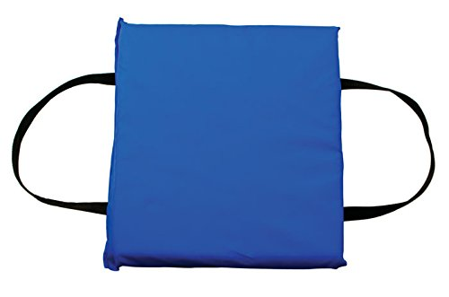 (Mad Dog USCG Approved Type IV Throwable Foam Flotation Boat Cushion (Blue))