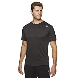 Reebok Men's Supersonic Crewneck Workout T-Shirt Designed with Performance Material