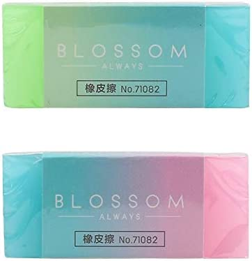 Jelly Color Soft Durable Flexible Cube Cute Pencil Rubber Erasers For Kid School