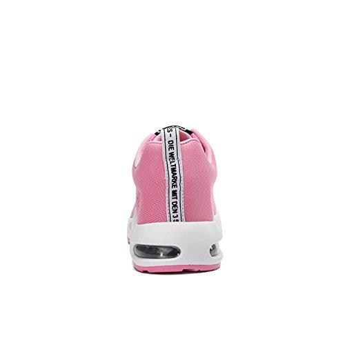 ランニングシューズ スニーカー レディース スポーツシューズ 通気性 JOYTO ウォーキング 運動靴 可愛い 女性用 エアクッション 蒸れない クッション性 耐久性 耐衝撃性 軽量 歩きやすい カジュアル 通勤 通学 日常着用 ジム 大きいサイズ