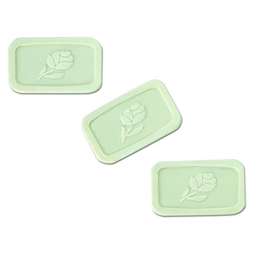Good Day GTP 400150 Unwrapped Amenity Bar Soap, Fresh Scent, 1.5 oz, White (Pack of 500) ()
