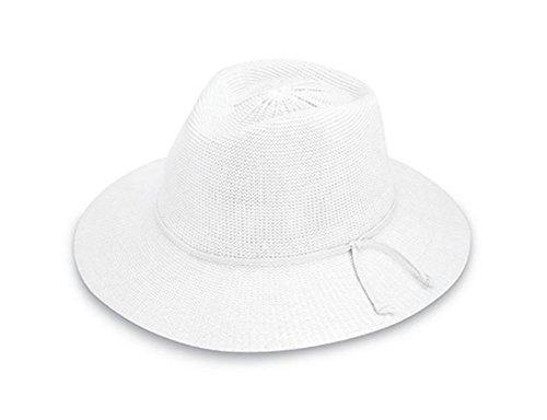 1e89192a2e929 Wallaroo Hat Company Women s Victoria Fedora Sun Hat - White - UPF ...