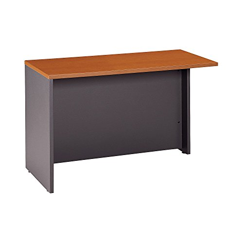 - Bush Business Furniture Series C Collection 48W Return Bridge in Auburn Maple