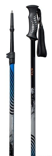 Whitewoods Appalachian Telescopic Cross Country Snowshoe Hiking 2 Pc Fastlock Ski Poles