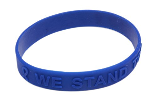 - Prostate Cancer Awareness Embossed Silicone Bracelet for only $7.95