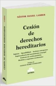 Cesión de derechos hereditarios (Spanish) Paperback – 2014