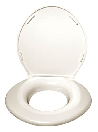 big john toilet seats 24456462cr big john oversized toilet seat with cover and stainless