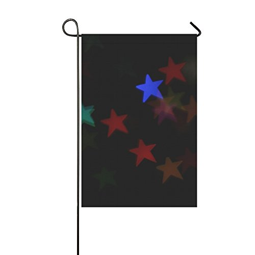 Home Decorative Outdoor Double Sided Star Bokeh Decorations