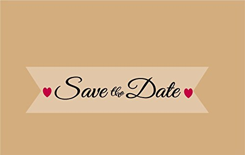 save the date envelope seals - 6