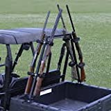 Great Day Sporting Clays UTV Gun Rack Model QD804SC It attaches securely to the sides of the cargo bed with use of lag screws or bolts MADE IN THE U.S.A.