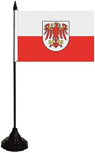 U24/tavolo bandiera Suedtirol bandiera bandiera tavolo bandiera 10/x 15/cm