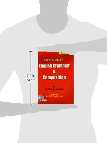 High School English Grammar and Composition: P.C. Wren, H. Martin ...