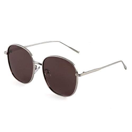 Women Polarized Sunglasses, BOLLH Vintage Round Sunglasses for Mirrored Retro Brand Sun Glasses