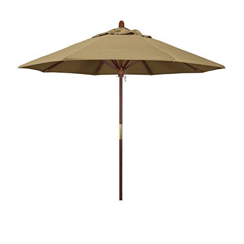 California Umbrella Hardwood Stainless Sunbrella