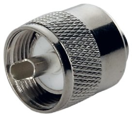Insulator Teflon (PL 259 is the best Marine boat male connector available for RG58 coaxial cable on all VHF and AIS Antennas. Nickel plated and silver tipped with Teflon insulator.)