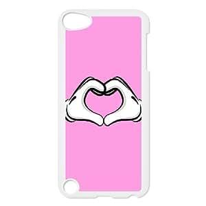 iPod Touch 5 Case White Mickey Mouse SLI_753986