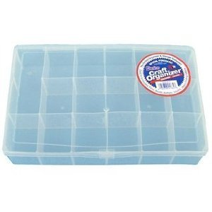 Promo Plastic Organizer - Clear - 17 Compartments