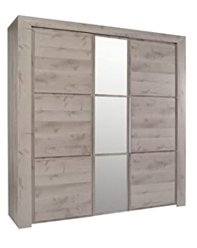 Armoire but 3 portes latest affordable armoire chambre for Armoire sarlat but