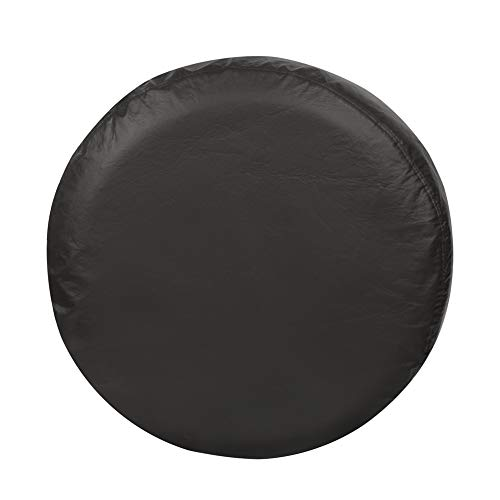 Explore Land 28-29.75 inch Spare Tire Cover Fit Jeep, Trailer, RV, SUV, Truck, Tough Vinyl Tire Wheel Soft Cover, Black Fits Entire Wheel size (28-29.75 inch)